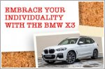 Embrace your individuality with the BMW X3