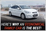 An economical family car is the ideal daily driver