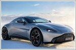 Ride and slide on ice with Aston Martin