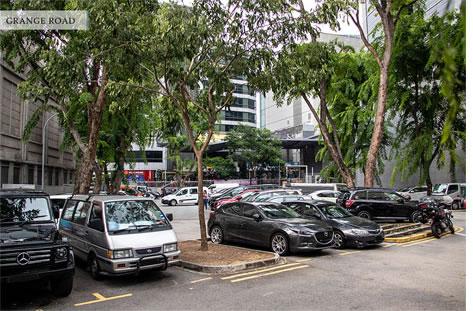 open-air carpark