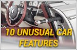 10 unusual car features you never knew