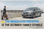 The Maxus G10 Executive is the ultimate MPV