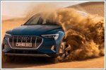 Audi e-tron: Getting up close and personal