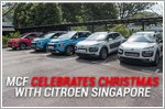 MCF celebrates Christmas with Citroen Singapore