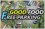 Free parking on a workday so you can spend more on food!