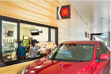 McDonald Drive Thru