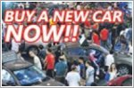 The best time to buy a new car is now!