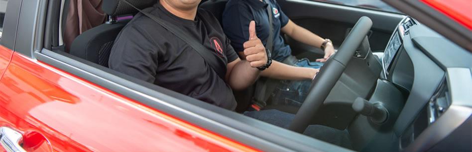 Guy Smiling in car2