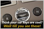 These innovative car keys are out of this world!