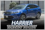 Why the Toyota Harrier is the best SUV choice