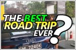 3 friends, over 700km of roads and an A4 - recipe for the best road trip ever?