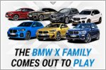 The BMW X family comes out to play