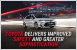 Toyota improves safety and sophistication