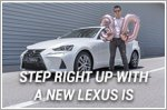 Step right up with a new Lexus IS