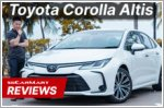 The Corolla Altis is perfect for the modern family