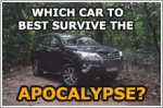 The best cars to survive an apocalypse