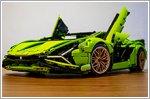 Building the LEGO Technic Lamborghini Sian FKP 37