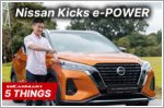 Five electrifying things about the Nissan Kicks