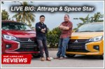 Live Big with the Mitsubishi Attrage and Space Star