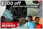 Get up to $200 off your next set of Continental SSR tyres