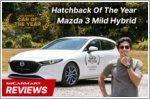 The Mazda3 offers premium refinement