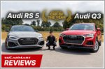 The Audi RS5 Sportback and Q3 can do anything