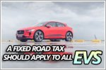 A fixed road tax should apply to all EVs in Singapore