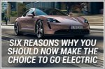 Six reasons why you should now make the choice to go electric