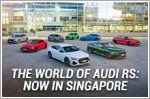 The world of Audi RS: Now in Singapore