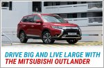 Drive and live large with the Mitsubishi Outlander