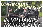 What's that black SUV in VP Kamala Harris' motorcade?