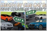 Death by COE Cat B: Larger premiums work well to delineate luxury cars - unless they're not supposed to be luxury cars