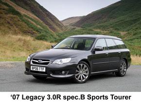 New-look plus engine innovation for Subaru's '07 Legacy range