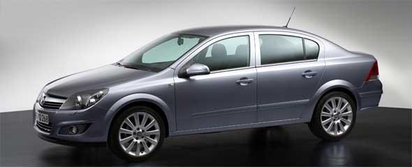 Opel Astra New Four Door Sedan Targets Growing Markets
