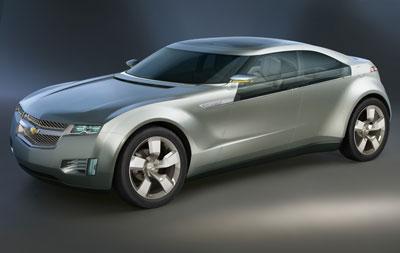 Chevrolet Volt - GM's concept electric vehicle