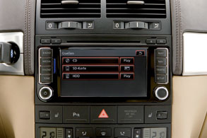 New RNS 510 radio navigation system for the Volkswagen Touareg