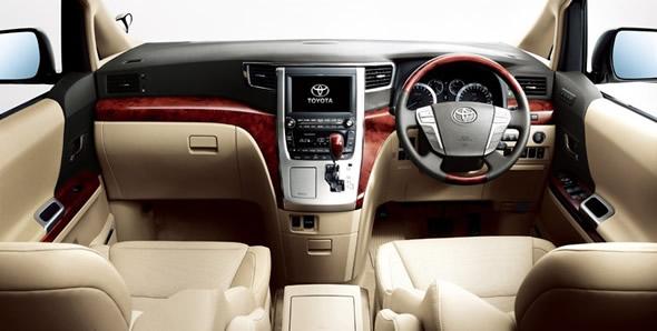 New Toyota Alphard on its way