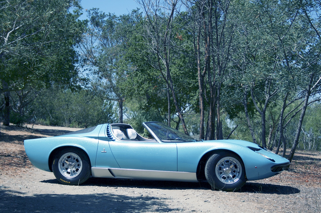 Lamborghini Miura Spyder Re Emerges After 40 Years