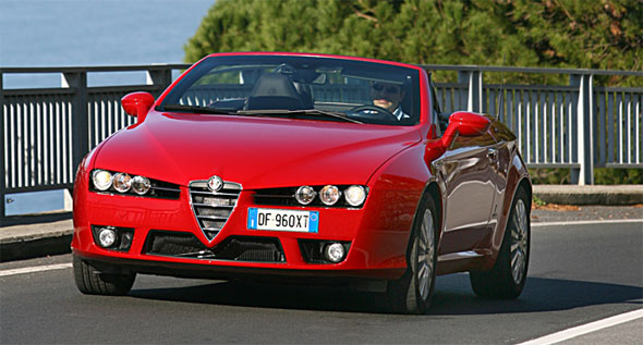 The New Bhp Alfa Romeo Spider JTDM - Alfa romeo spider new model