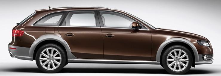 Audi Launches A Allroad Quattro - Audi allroad ground clearance