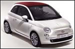Supermodel falls in love at first sight with Fiat's new supermini