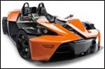 X-BOW power upgrade endorsed by KTM