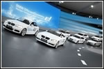 BMW's Frankfurt stand goes in motion
