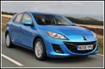 The all-new Mazda3 was named Scotland's best family car of 2009
