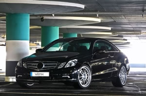 Mercedes Benz E500 Coupe Gets A Tuning Program From Vath