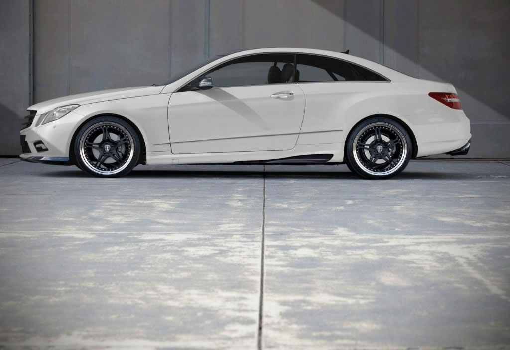 Mercedes Benz E Class Coupe Tuned By Kicherer