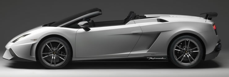 Lamborghini Presents The Gallardo Lp 570 4 Spyder Performante