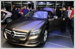 Mercedes-Benz launches CLS-Class