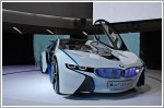 A preview of the BMW Vision EfficientDynamics concept car