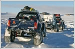 Toyota Hilux overcome all odds to reach south pole
